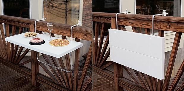 Складной навесной стол своими руками