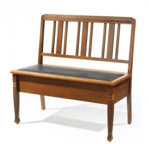 Симпатичная скамейка в прихожую