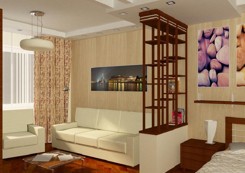 Ремонт в однокомнатной квартире своими руками фото